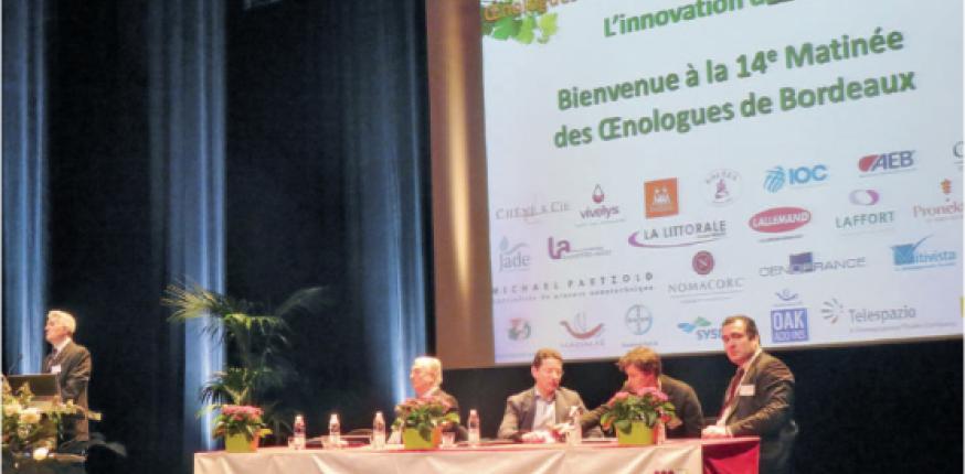 Matinée des oenologues : L'innovation dans tous ses états