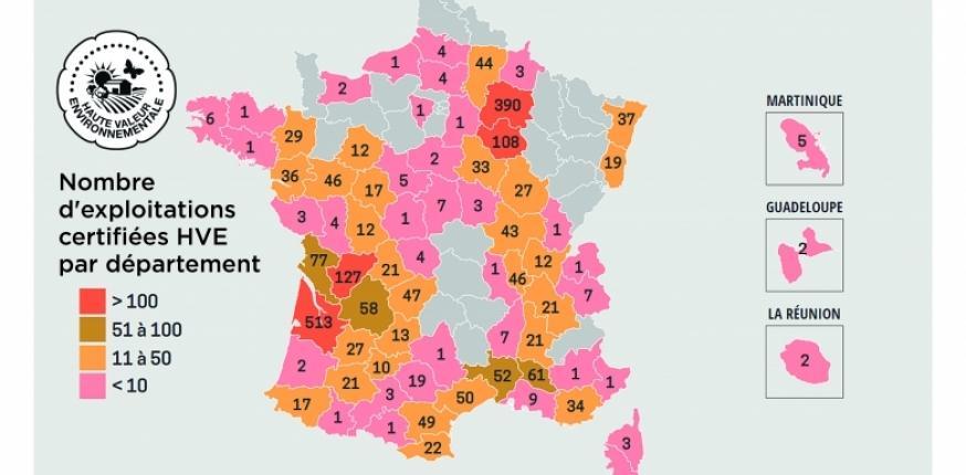La Gironde, premier département de France certifié en HVE