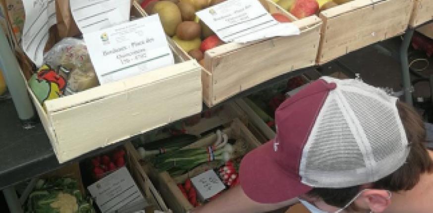 [COVID-19] Solidarité agricole : mise à disposition de l'Espace Carrière & renfort au Drive fermier