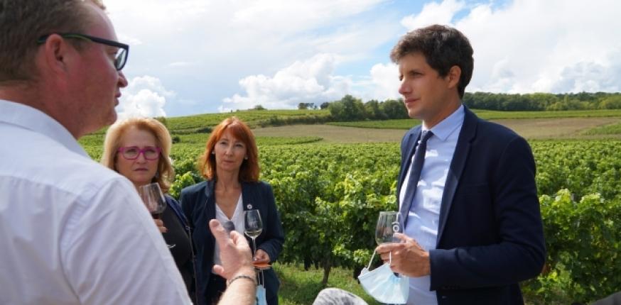 Julien Denormandie: «La rémunération des agriculteurs n'est pas reconnue!»
