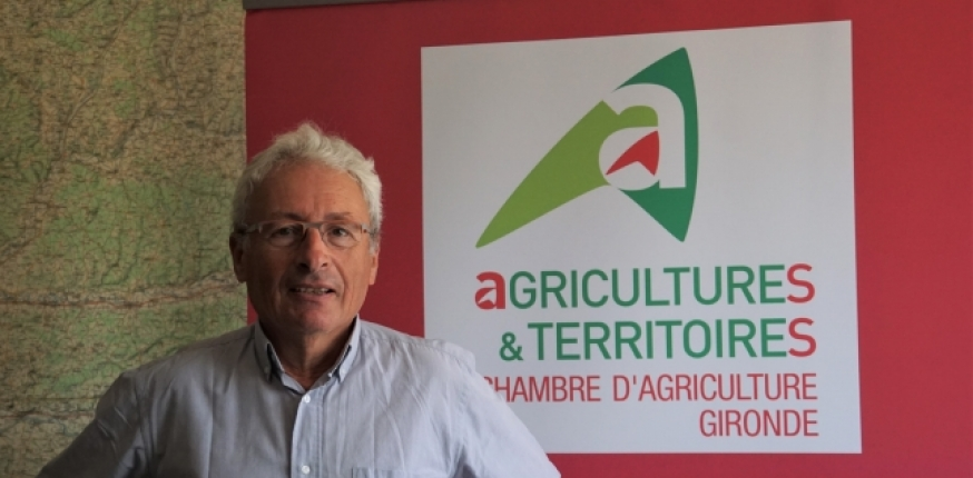 Jean louis dubourg pr sident de la chambre d agriculture - Chambre agriculture gironde ...
