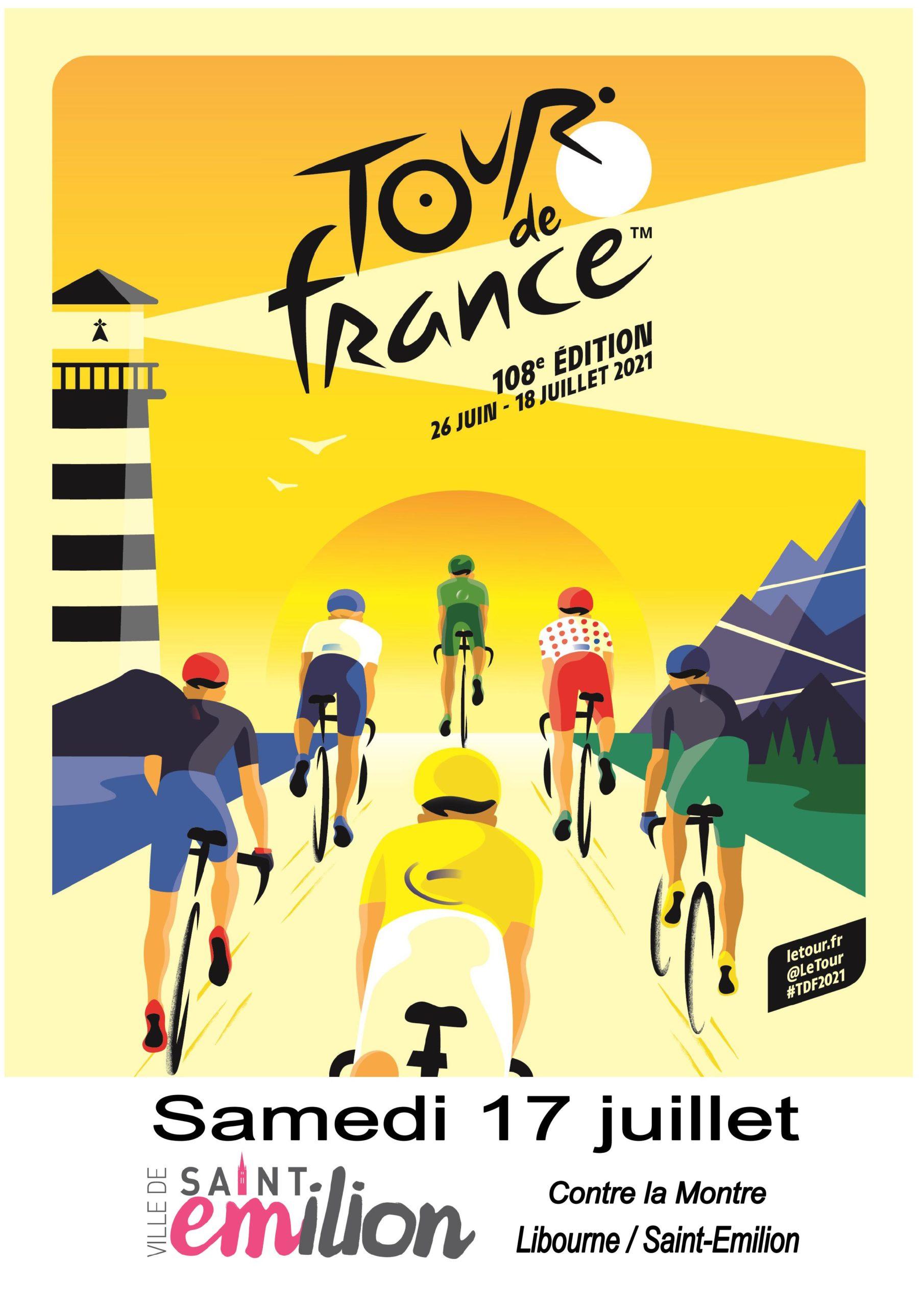 Libourne et Saint-Émilion en fête pour le Tour de France